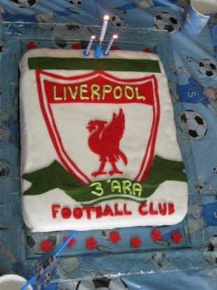 Liverpool afmæliskaka