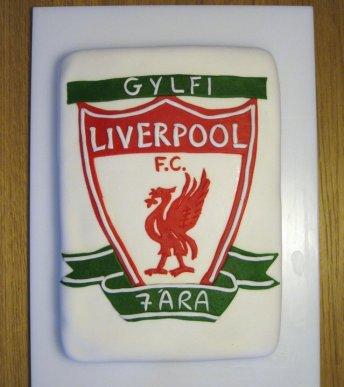 Liverpool afmæliskaka 2