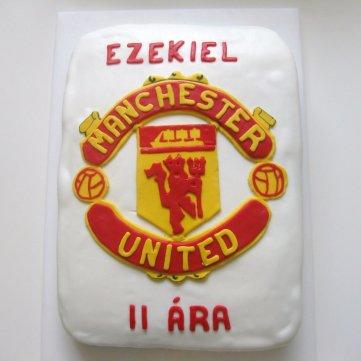 Manchester United afmæliskaka