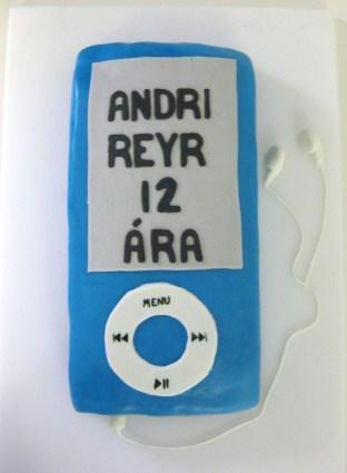 Blá iPod kaka