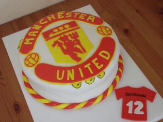 Manchester United afmæliskaka 2