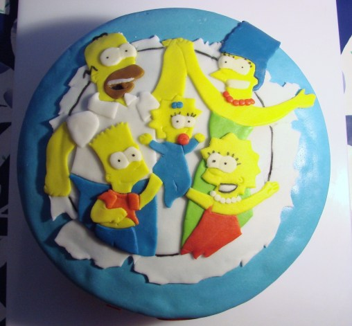 Simpsons afmæliskaka