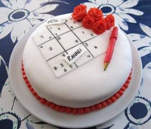 Sudoku afmælisterta